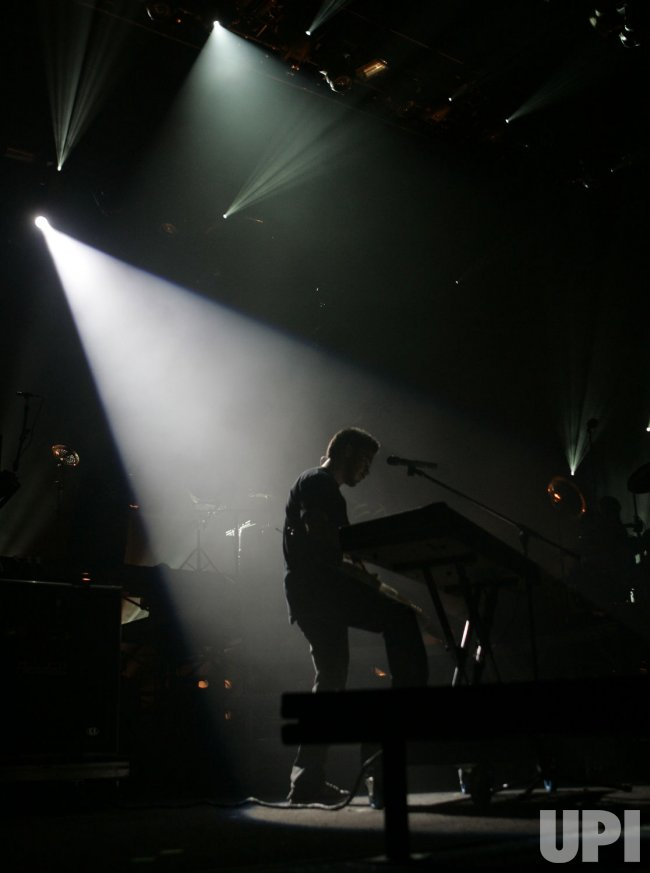 Linkin Park performs in concert in West Palm Beach, Florida