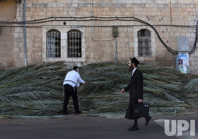 Ultra-Orthodox Jews Prepare For Sukkot in Jerusalem