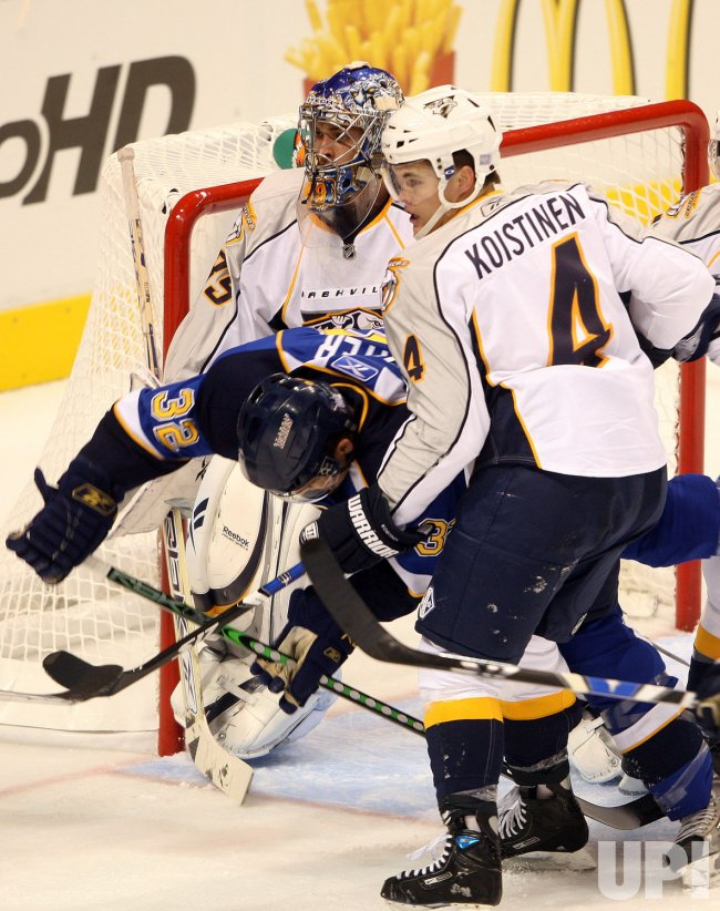 Nashville Predators vs St. Louis Blues