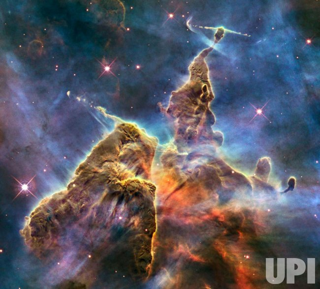 NASA's Hubble Space Telescope peers into the Carina Nebula
