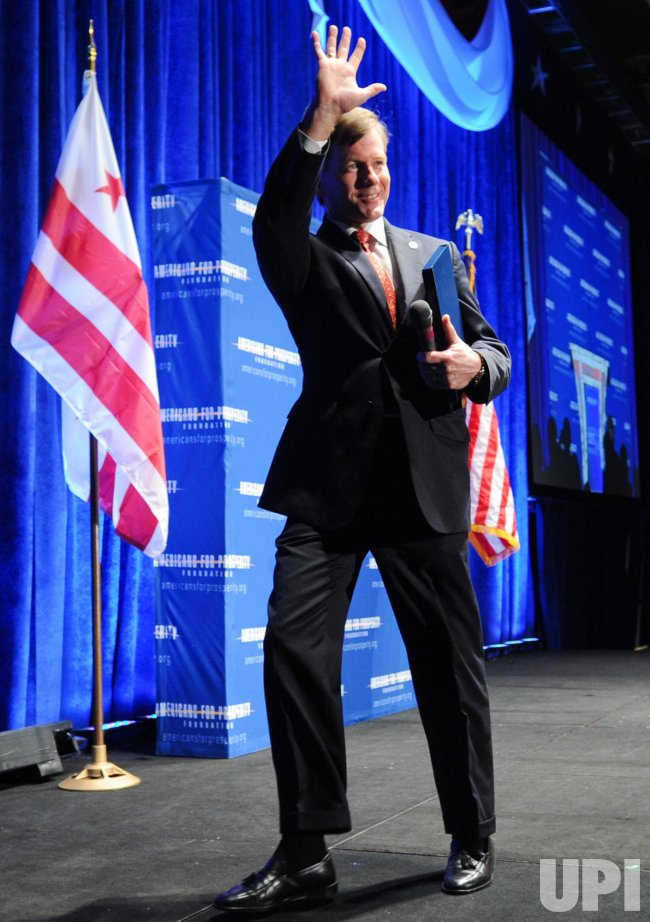 Virginia Gov. Bob McDonnell speaks at conservative conference in Washington