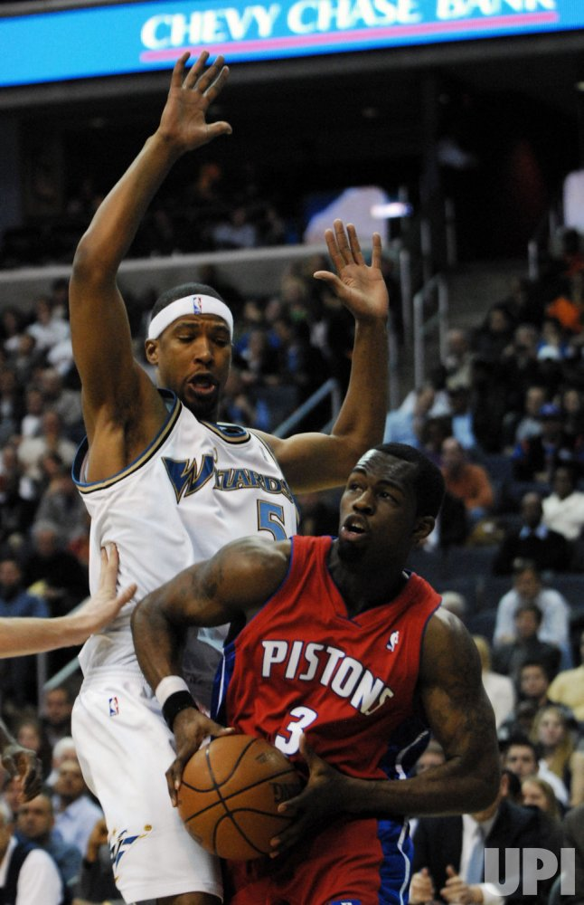 NBA Detroit Pistons vs Washington Wizards
