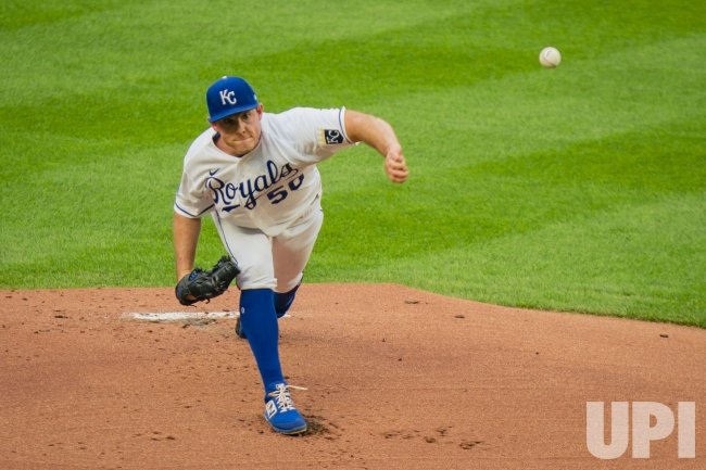 Royals Kris Bubic pitches against the White Sox