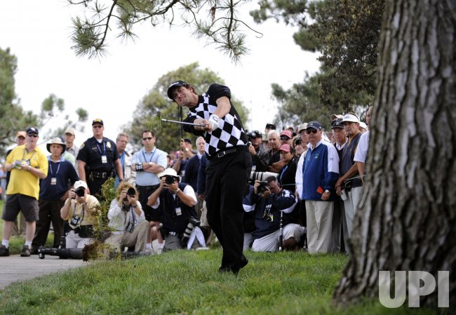 Round One of the US Open at Torrey Pines Golf Course in San Diego