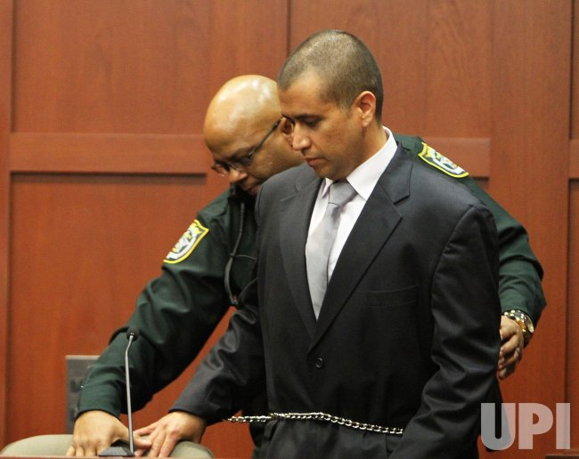 Zimmerman Bond Hearing in Sanford, Florida