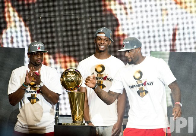 Miami Heat NBA 2012 Championship