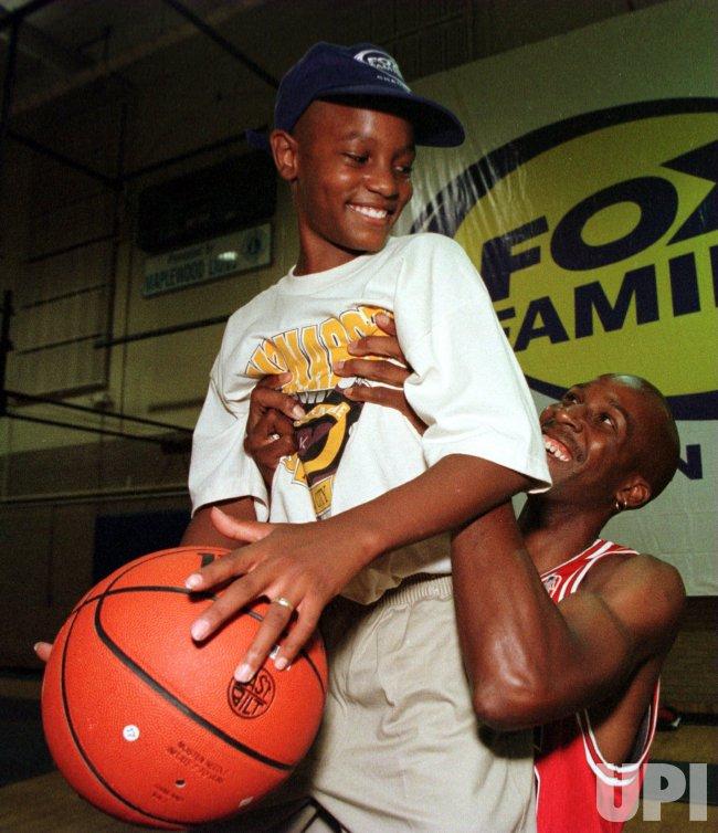 Michael Jordan look-alike