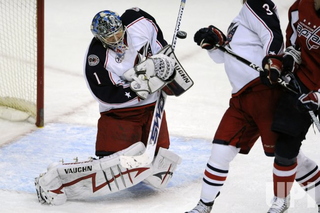 NHL Columbus Blue Jackets at Washington Capitals