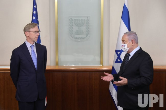 U.S. Special Representative for Iran Brian Hook Visits Israel