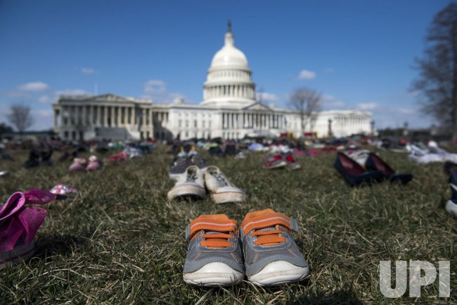 Shoe Protest to Bring Attention to Child Gun Violence in Washington, D.C.