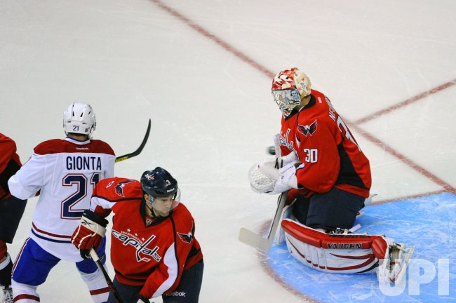 Washington Capitals vs Montreal Canadiens in Washington