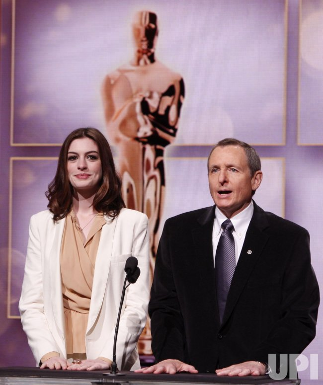 Anne Hathaway And Tom Sherak Announce Nominations For 82nd