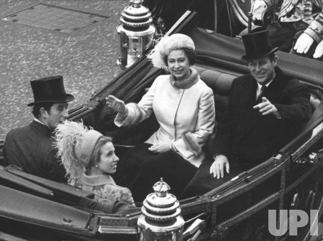 Royal Silver Wedding Celebrations in London