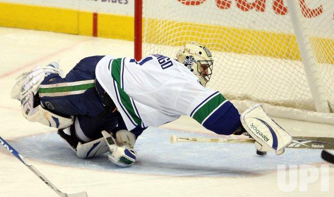 Vancouver Canucks Roberto Luongo