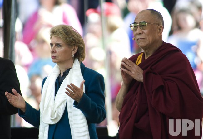 The Dalai Lama in Seattle
