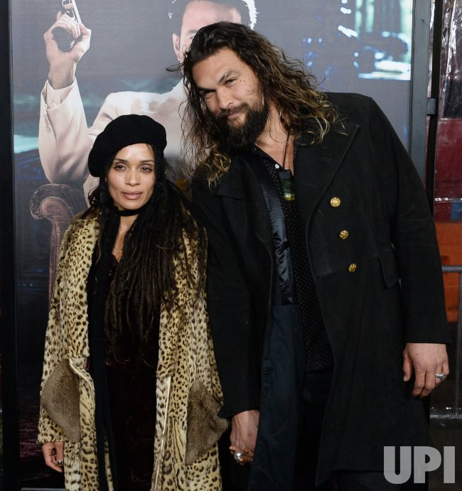 "Lisa Bonet and Jason Momoa attend the ""Live By Night"" premiere in Los Angeles"