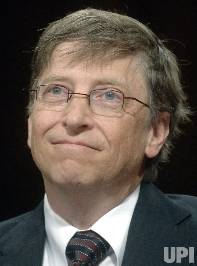 Microsoft Chairman Bill Gates steps down in Redmond, Washington