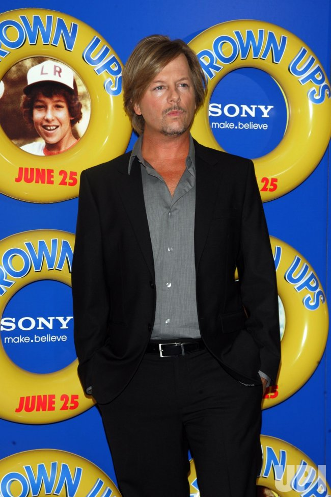 "David Spade arrives for the ""Grown Ups"" Premiere in New York"