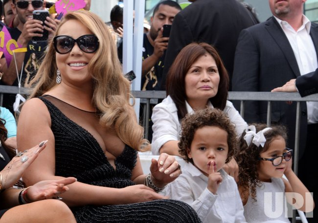 Mariah Carey honored with star on Hollywood Walk of Fame in Los Angeles