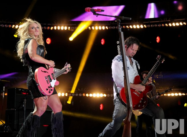 Miranda Lambert performs at the 2012 CMA Music Festival in Nashville