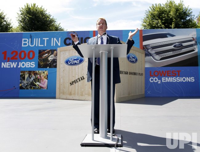 Bill Ford speaks at 2011 Explorer unveil in Chicago