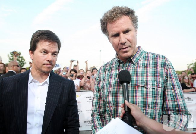 "Will Ferrell and Mark Wahlberg in St. Louis for movie premier of ""The Other Guys"""