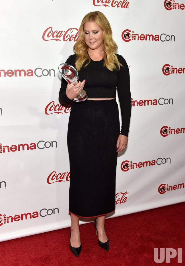 Actress Amy Schumer attends at the 2015 CinemaCon in Las Vegas