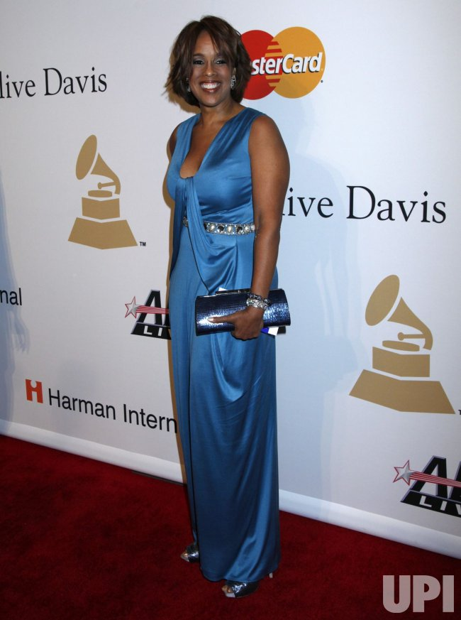 Gayle King arrives at the Clive Davis Pre-Grammy Gala in Beverly Hills