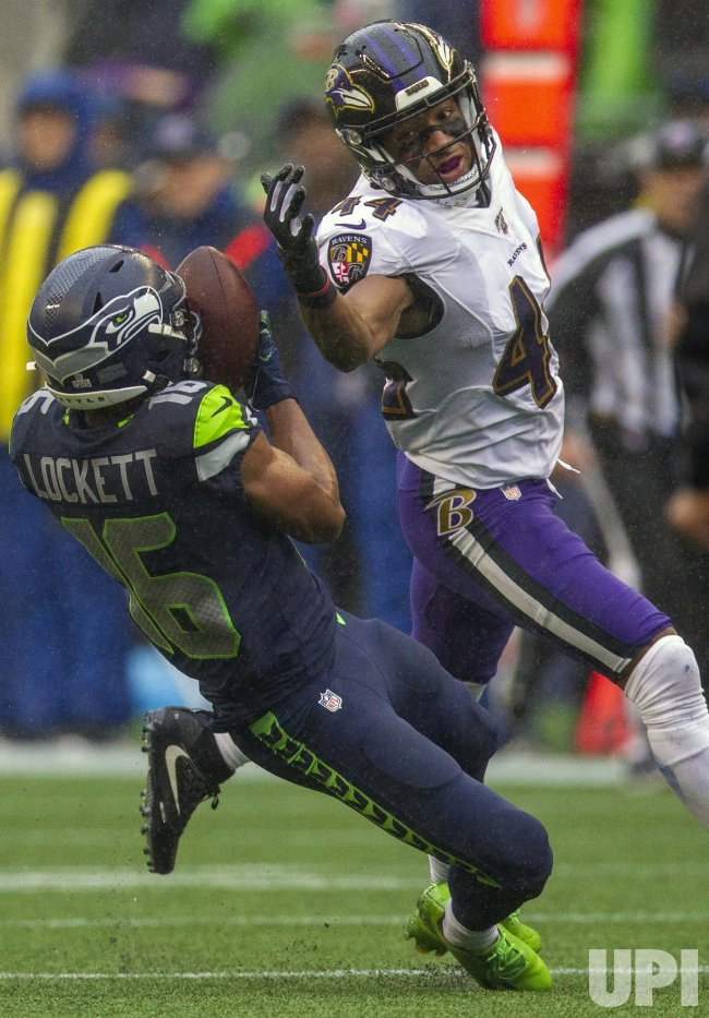 The Ravens beat the Seahawks 30-16 in Seattle