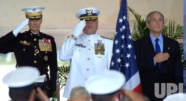 COAST GUARD CHANGES COMMANDANTS