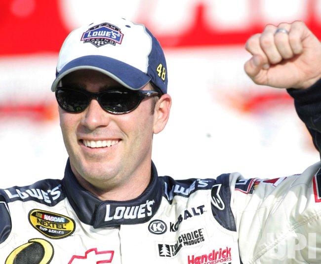NASCAR DRIVER JIMMIE JOHNSON FINED AFTER WINNING UAW-DAIMLER CHRYSLER 400