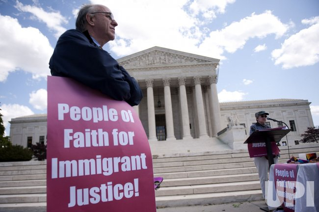 Religious groups protest Arizona's SB 1070 Immigration Law in Washington
