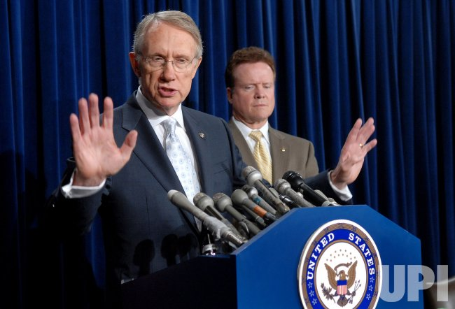 SENATORS REID AND WEBB SPEAK ON IRAQ IN WASHINGTON