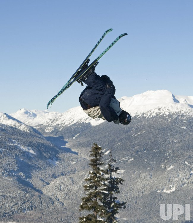 Canadian National Halfpipe Ski Team trains in Whistler