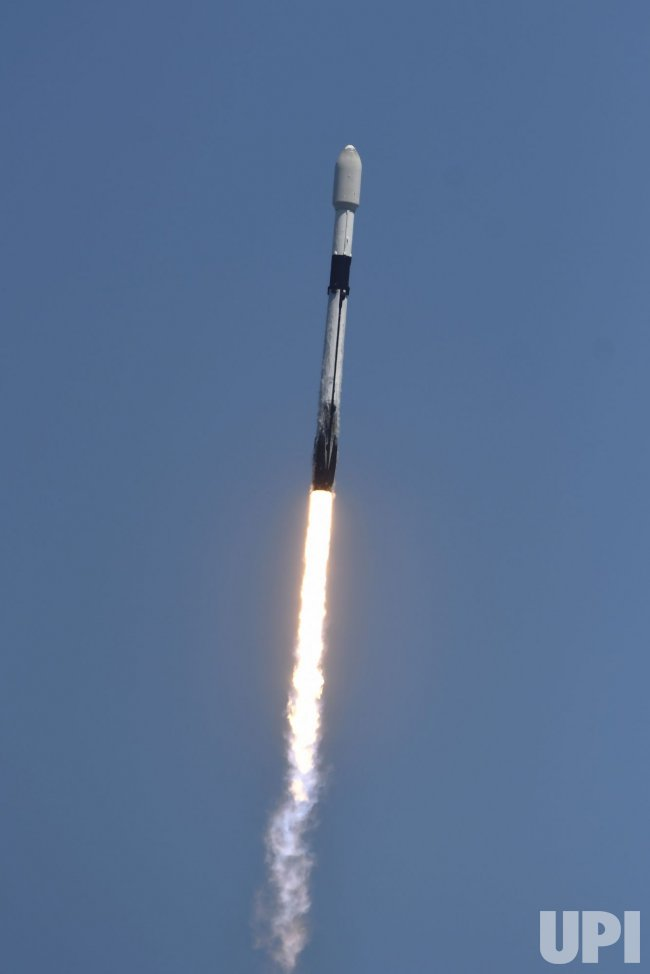 SpaceX Launches Starlink Satellites From the Cape Canaveral Space Force Station, Florida