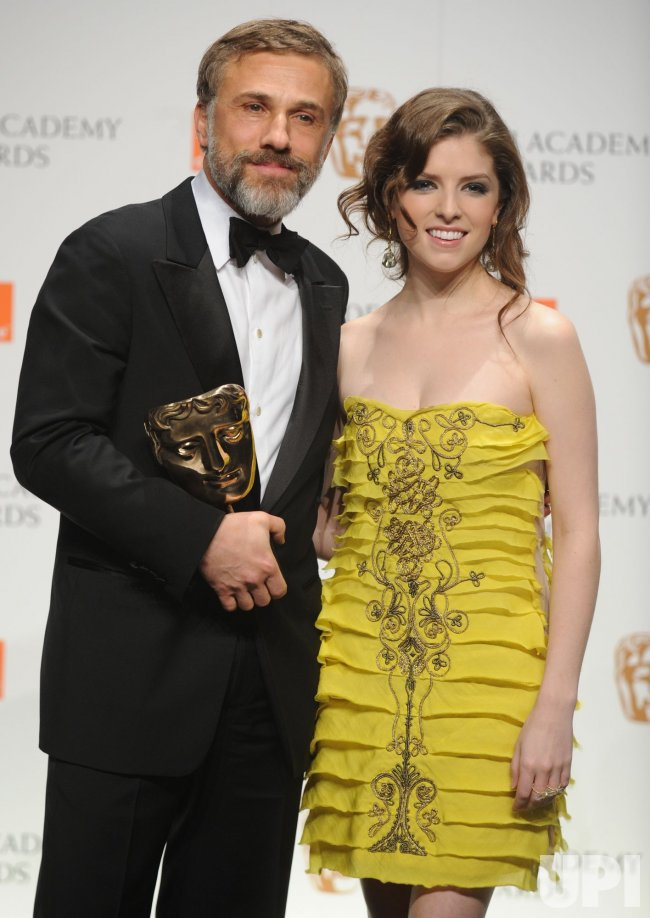 "Christoph Waltz and Anna Kendrick attend ""BAFTA"" in London"