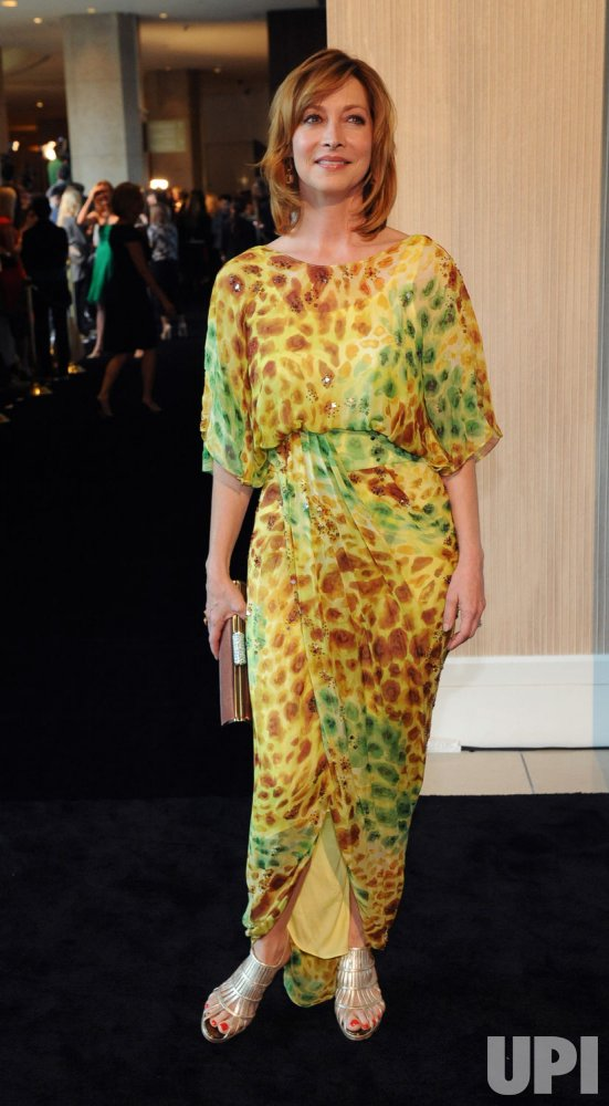 Sharon Lawrence arrives at the Crystal + Lucy Awards in Beverly Hills, California