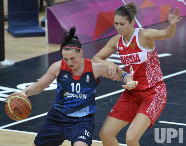 Great Britain-Russia women's basketball at 2012 Summer Olympics in London