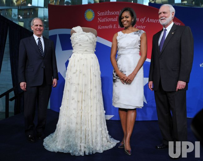 First Lady Michelle Obama Donates Her Inaugural Gown To The