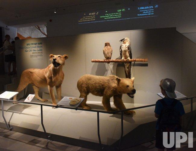 People Visit The Steinhardt Museum Of Natural History in Tel Aviv, Israel