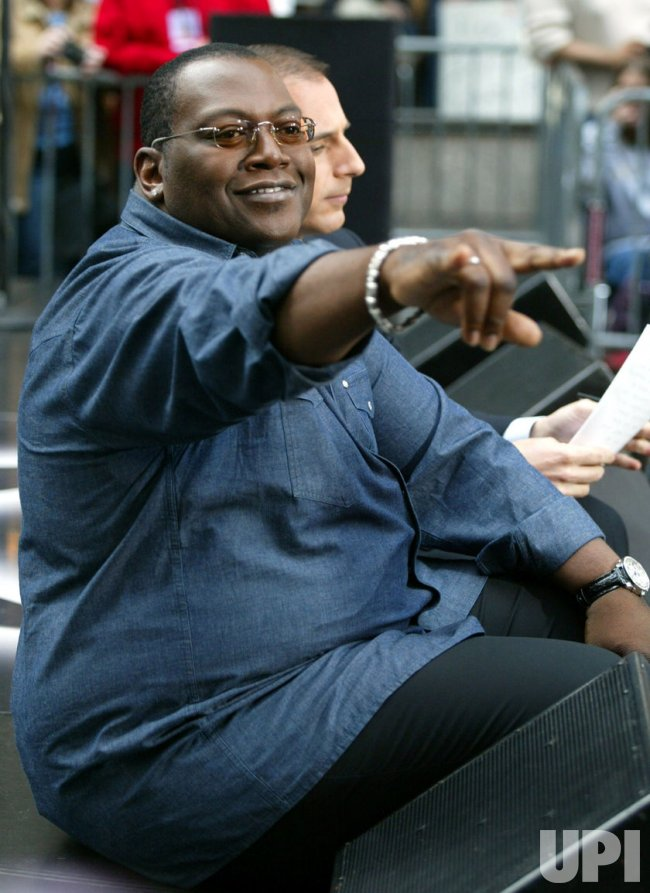 Randy Jackson on the NBC Today Show Summer Concert Series