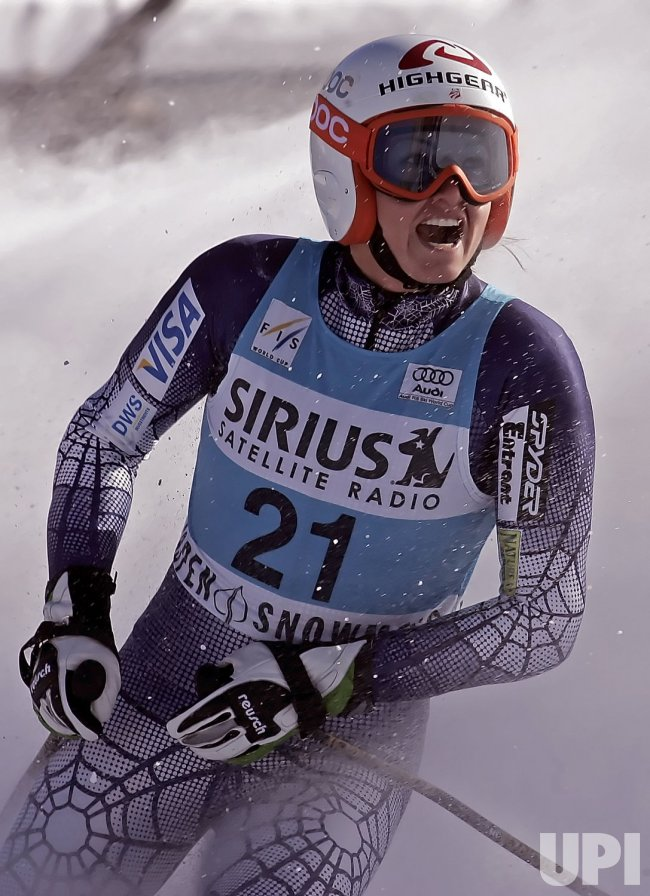 USA WOMEN'S WORLD CUP ALPINE SKIING