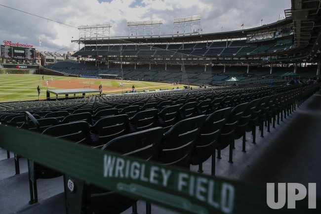 Chicago Cubs vs Miami Marlins NL Wild Card Game at Wrigley Field in Chicago