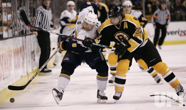 BUFFALO SABRES VS BOSTON BRUINS