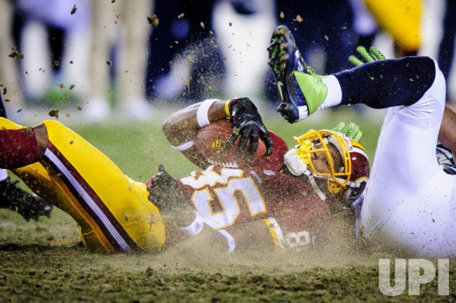 Seattle Seahawks vs. Washington Redskins in the NFC Wild Card Round in Landover, Maryland