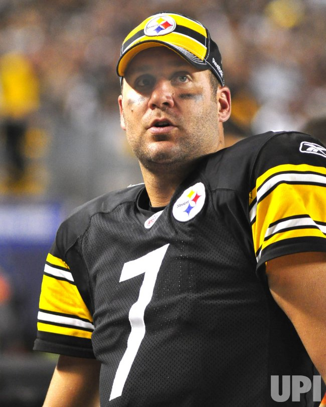 Pittsburgh Steelers Ben Roethlisberger in Pittsburgh