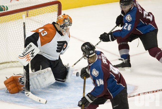 NHL Colorado Avalanche hosts Philadelphia Flyers