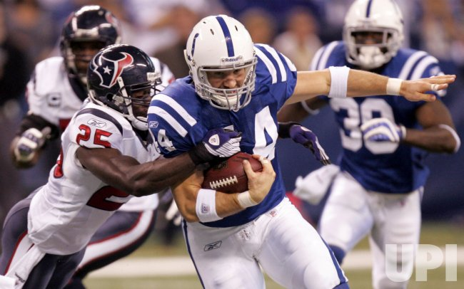 NFL Football Texans meet the Colts in Indianapolis
