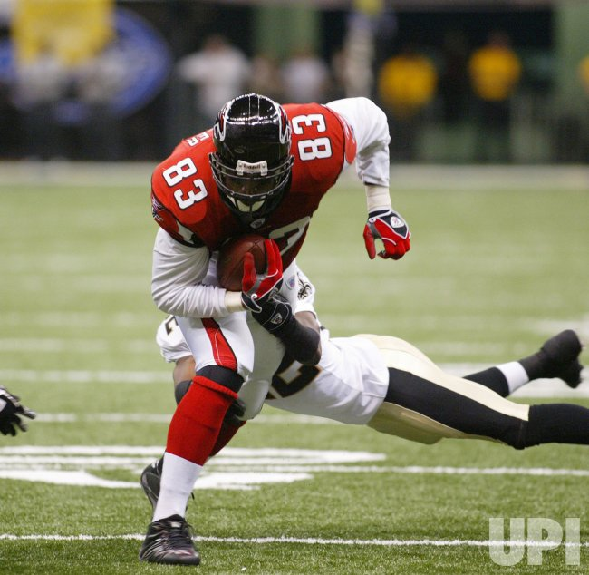 ATLANTA FALCONS AT NEW ORLEANS SAINTS NFL FOOTBALL