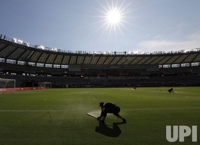 France vs Mexico Men's Football at Tokyo Olympics
